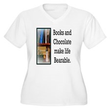 Books and Chocola T-Shirt