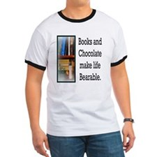 Books and Chocolate T