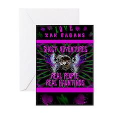 Ghost Adventures Zak Bagans Greeting Card