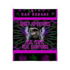 Ghost Adventures Zak Bagans Throw Blanket