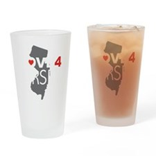 Love 4 Jersey Drinking Glass