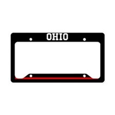 Ohio Fire And Rescue License Plate Holder