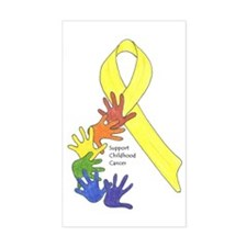 Support Childhood Cancer Decal