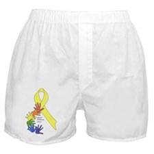 Support Childhood Cancer Boxer Shorts
