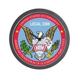 AFGE Local 2369 Wall Clock