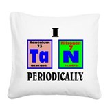 Chemistry bedding Throw Pillows