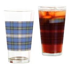 MacDowell Tartan Plaid Drinking Glass