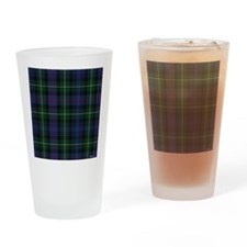 MacKenzie Tartan Shower Curtain Drinking Glass