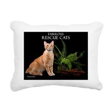 Rescue Cat Calendar Rectangular Canvas Pillow