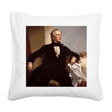 10 Tyler Square Canvas Pillow
