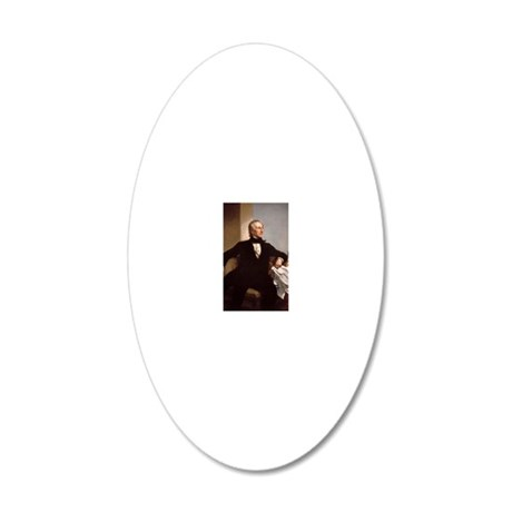 10 Tyler 20x12 Oval Wall Decal