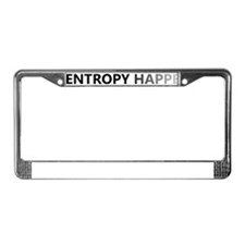 ENTROPY License Plate Frame