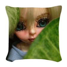 I see you Woven Throw Pillow