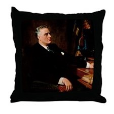 32 FDR Throw Pillow