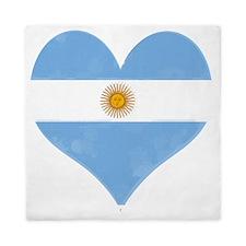 El Corazon de Argentina Queen Duvet