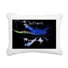 Electronic Voice Phenome Rectangular Canvas Pillow