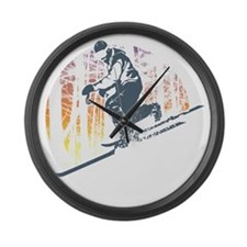 Free Heel Large Wall Clock