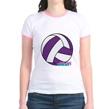Purple Volleyball T