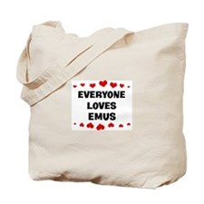 Loves: Emus Tote Bag