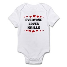 Loves: Krills Infant Bodysuit