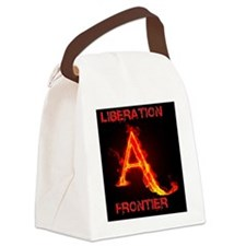 Animal Liberation Frontier Logo Canvas Lunch Bag