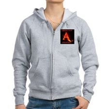 Animal Liberation Frontier Logo Zip Hoodie
