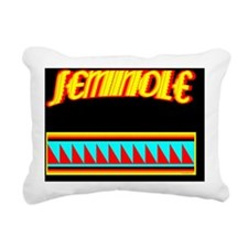 SEMINOLE INDIAN Rectangular Canvas Pillow