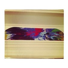 The other Damien Hirst spin art in l Throw Blanket