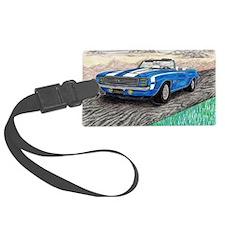 The Classic 1969' Camaro SS 396' Luggage Tag