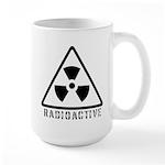 Radioactive Symbol Large Mug