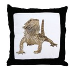 Bearded Dragon Photo Throw Pillow