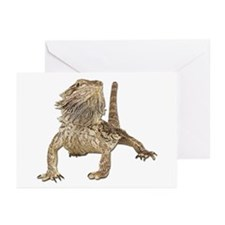 Bearded Dragon Photo Greeting Cards (Pk of 10)