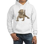 Bearded Dragon Photo Hooded Sweatshirt