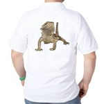 Bearded Dragon Photo Golf Shirt