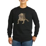 Bearded Dragon Photo Long Sleeve Dark T-Shirt