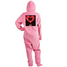 HIV Speaks Footed Pajamas