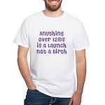 The 'Stretch' White T-Shirt