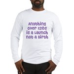 The 'Stretch' Long Sleeve T-Shirt