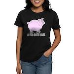 A Pig Says Oink Women's Dark T-Shirt