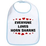 Loves: Horn Sharks Bib