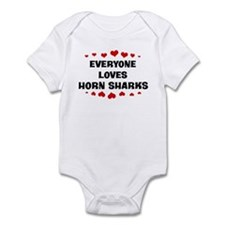 Loves: Horn Sharks Infant Bodysuit