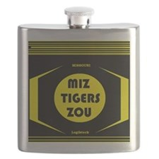 MIZZOU TIGERS Flask