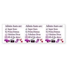 Admina Bumper Sticker