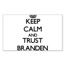 Keep Calm and TRUST Branden Decal