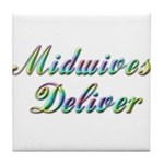 Deliver With This Tile Coaster