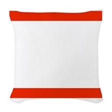 RUN TNT Woven Throw Pillow