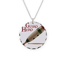 Guiro Hero Necklace Circle Charm