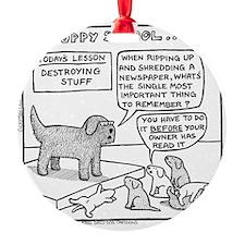 Puppy School Ornament