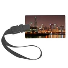 Chicago Skyline Luggage Tag