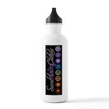 rich black Water Bottle